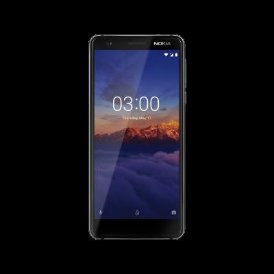 Nokia_3_1-BlackChrome-Front