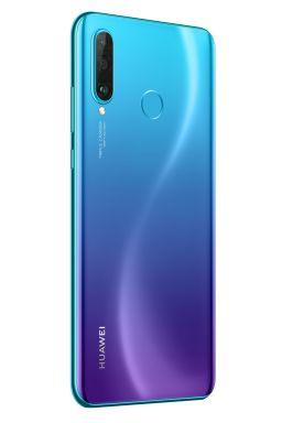 P30 lite Product Image_Standard_Blue_Rear 30_Left_RGB_20190119